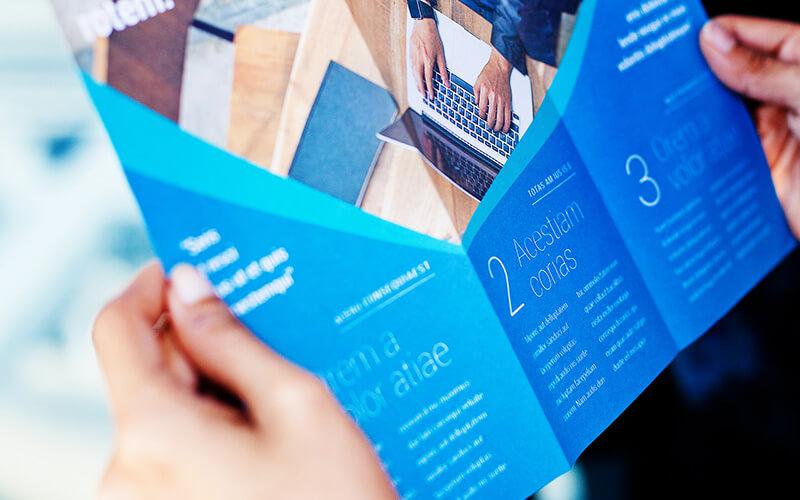 A Tri-Fold Brochure
