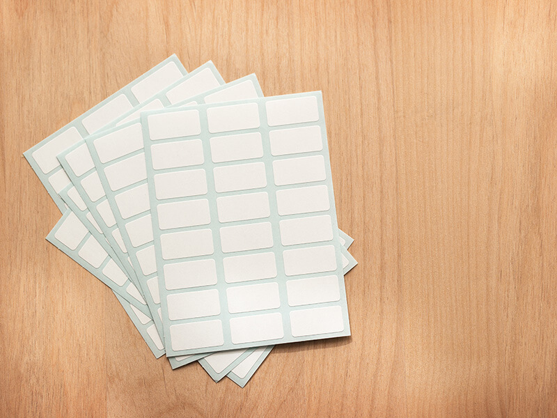 Sheets Of Paper Stickers