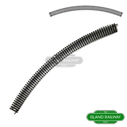 Hornby Fourth Radius Double Curve Track Piece