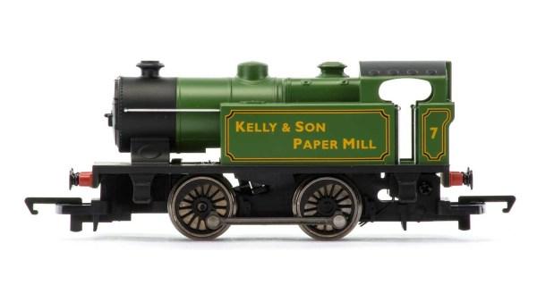 RailRoad, Kelly & Son Paper Mill, Type D, 0-4-0T, No. 7 - Era 3/4