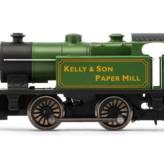 RailRoad, Kelly & Son Paper Mill, Type D, 0-4-0T, No. 7 - Era 3/4