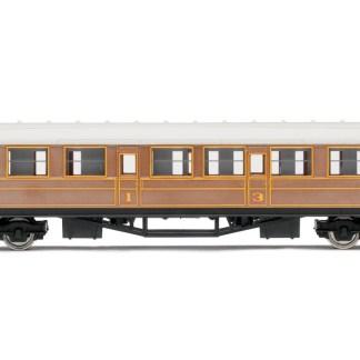 Hornby RailRoad LNER Teak Composite Passenger Coach