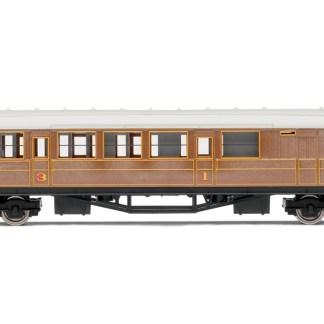 Hornby RailRoad LNER Teak Brake Passenger Coach