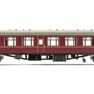 RailRoad BR Mk1 Corridor Composite Coach - BR Maroon