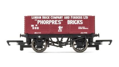 Hornby 6 Plank Wagon, London Brick Company - Era 3
