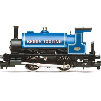 Hornby Beggs Tooling, Class 264 'Pug', 0-4-0ST, 854 Steam Locomotive - Era 3/4