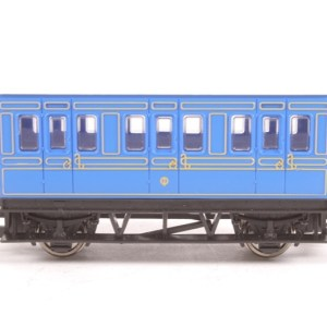 Hornby Blue Four Wheel Passenger Coach