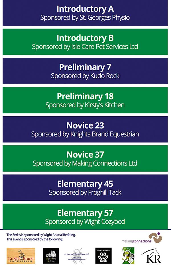 A5 Dressage Show Schedule