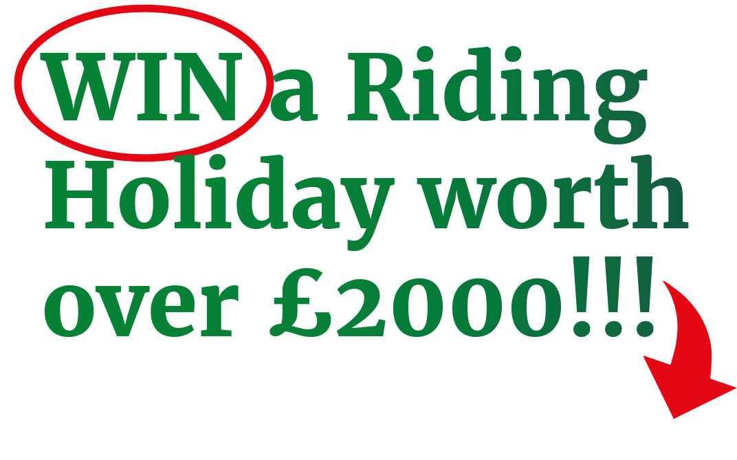 Win a Riding Holiday