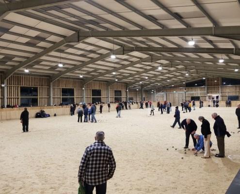 Petanque in the indoor arena (Medium)