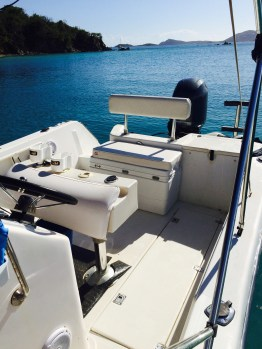 Rear Bench Seat and Captains Chair