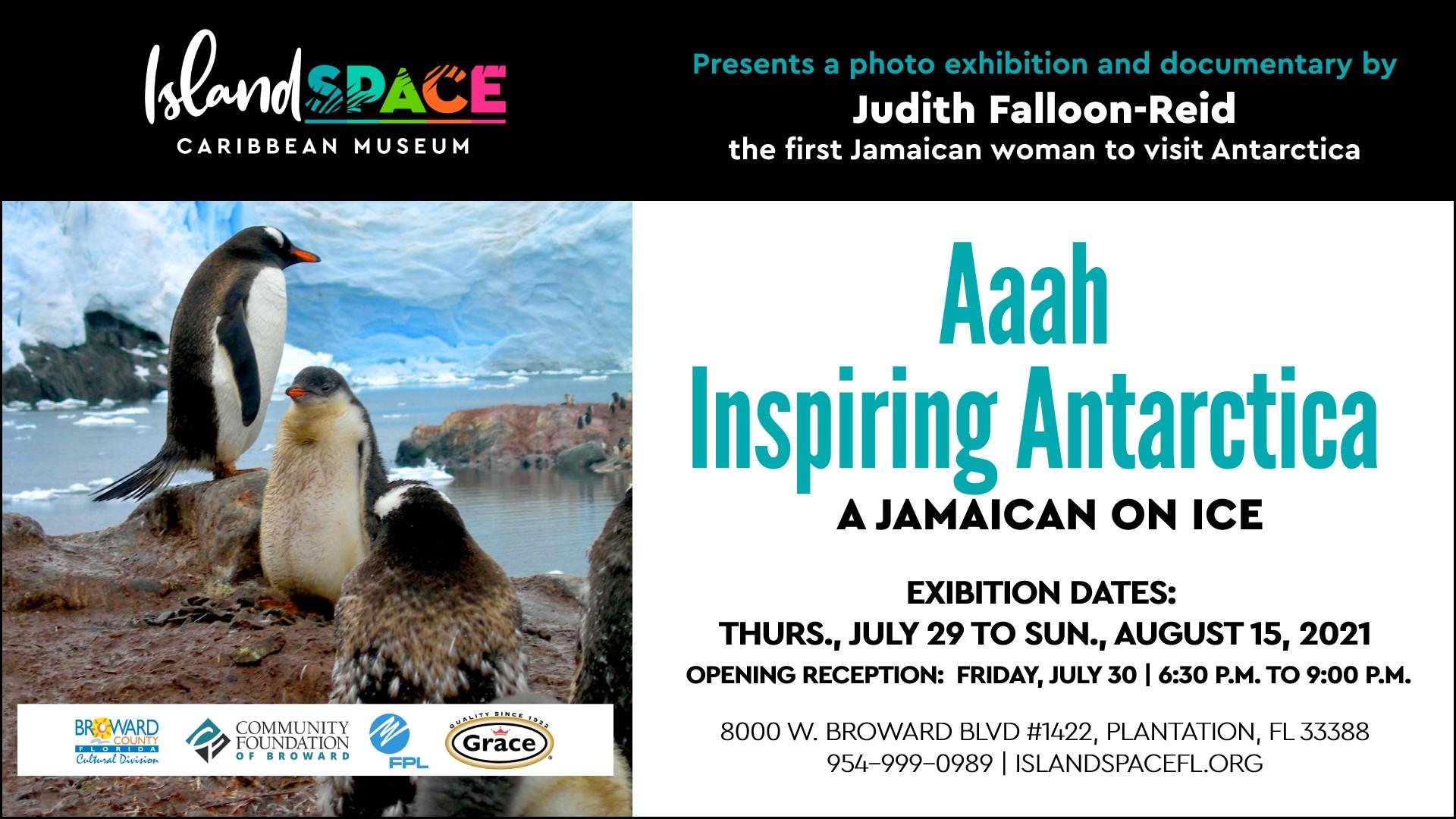 Aaah Inspiring Antarctica: A Jamaican On Ice Apertura de recepción