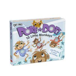 10 little monkeys poke a dot