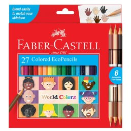 colored pencils by skin tone