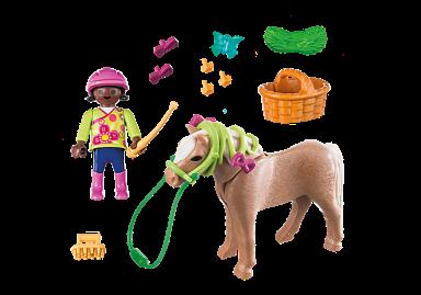 girl with pony