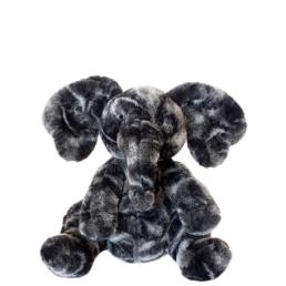 Front view of Liam elephant small stuffed animal from Manhattan toy company