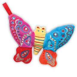 eeboo butterfly rattle