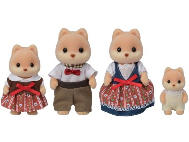calico critters dog family