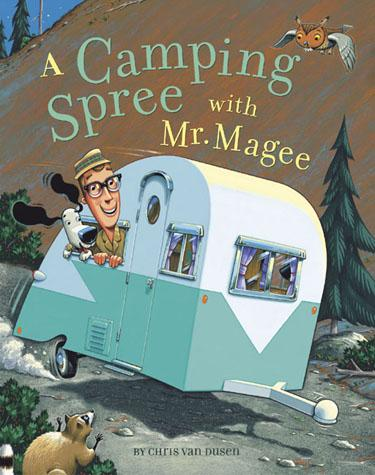 camping spree with mr magee