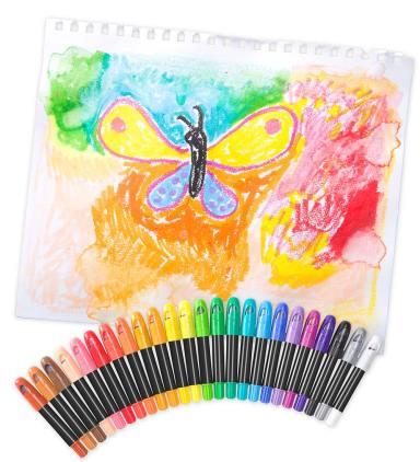 color pop crayons