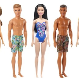 barbie beach dolls assortment