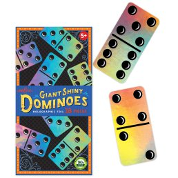 giant shiny dominos
