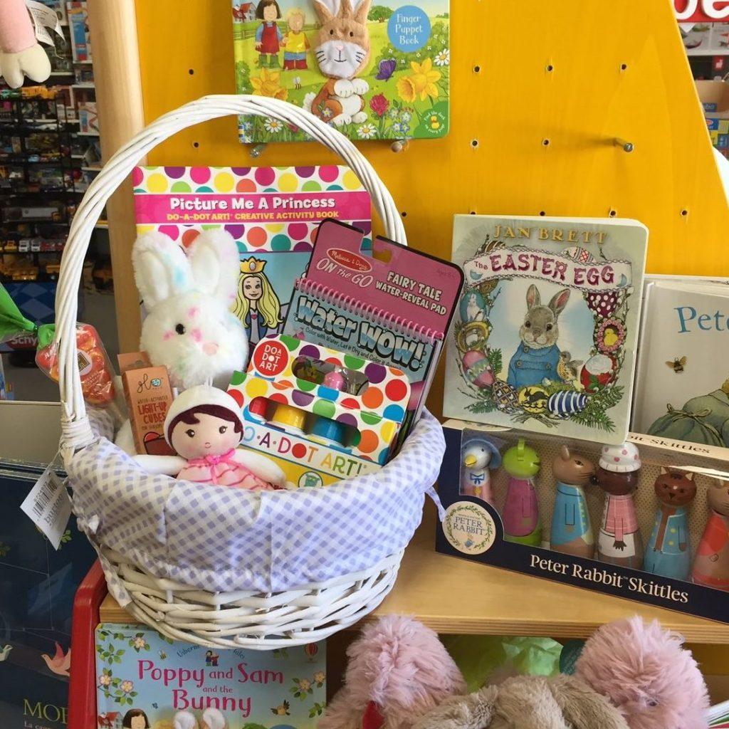 easter basket for girl age 3