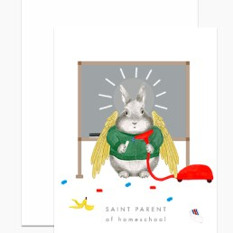 saint parent card
