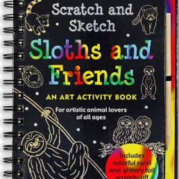 sloth and friends trace along
