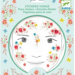 springtime fairy face stickers