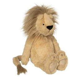 side view of manhattan toy charming charlie stuffed lion