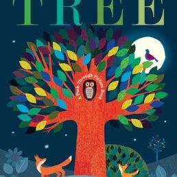 tree peek through book
