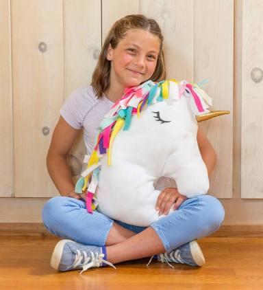 unicorn knot a pillow
