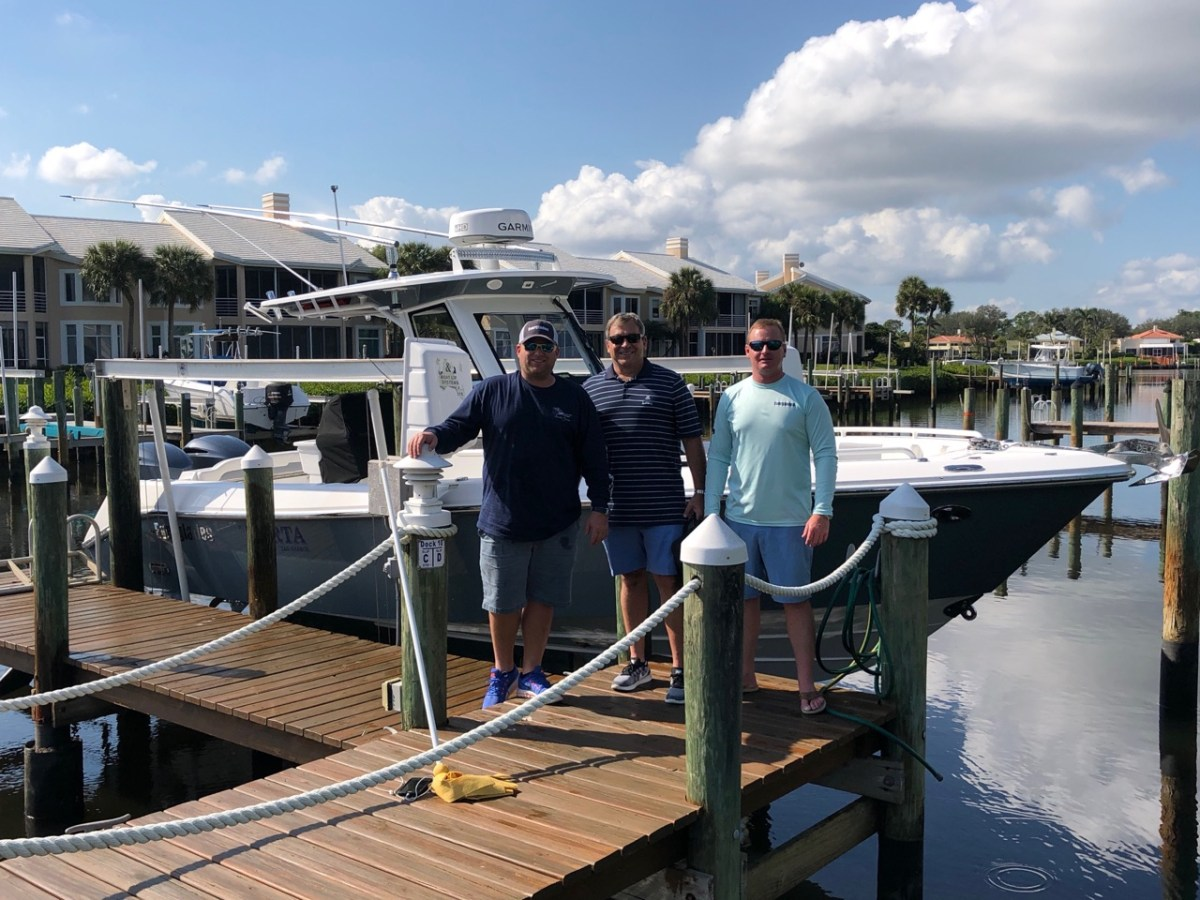 Island Yacht welcomes Joseph Posillico on the purchase of his new 295cc.