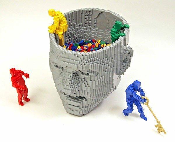 cerebro lego