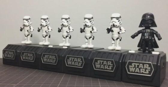 Darth Vader y los suyos bailando Claqué