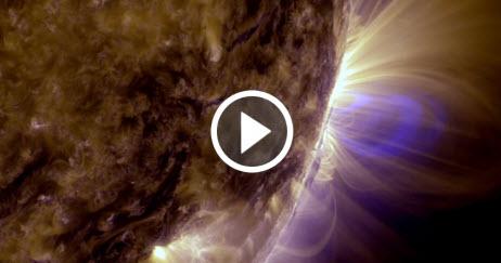 Filmacion en Alta Resolucion del Sol durante cinco años, segundo a segundo