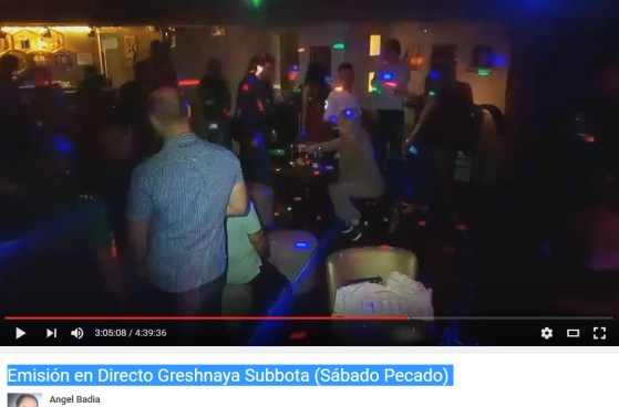 Emisión en Directo Greshnaya Subbota (Sábado Pecado) #andaveycrea
