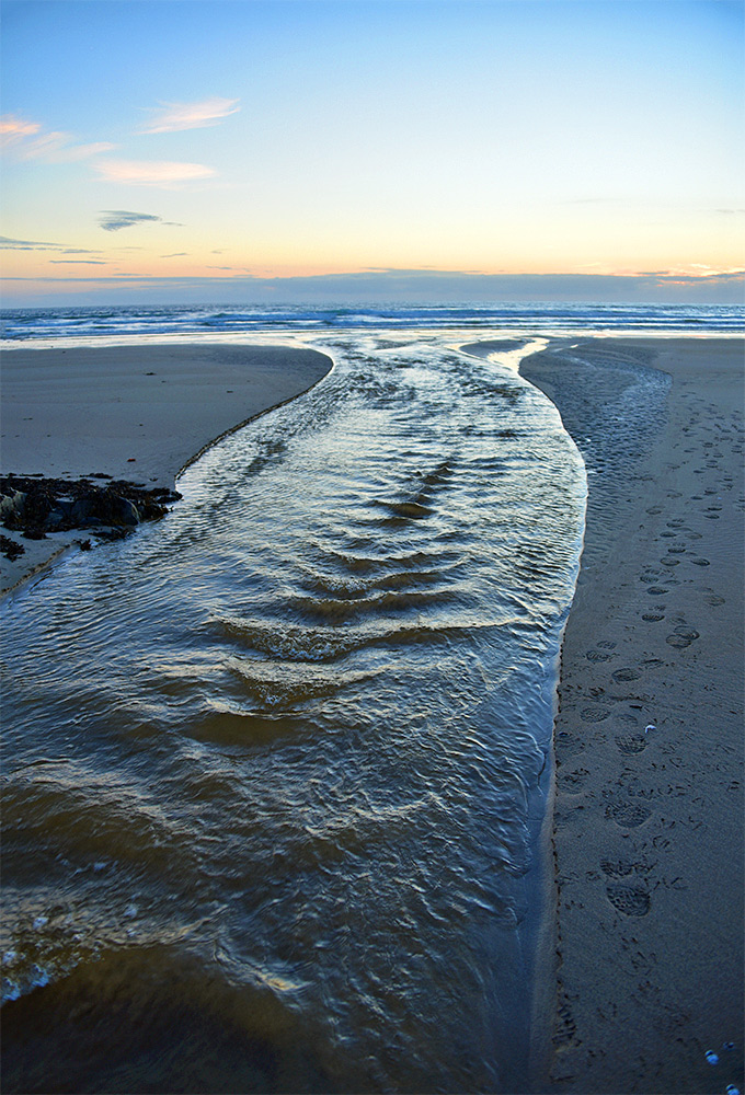 Image result for a stream flowing into a river or ocean
