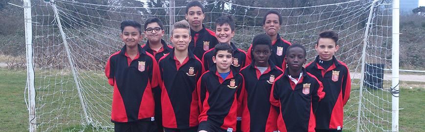 Year 7 'A' Team Football Win League Title