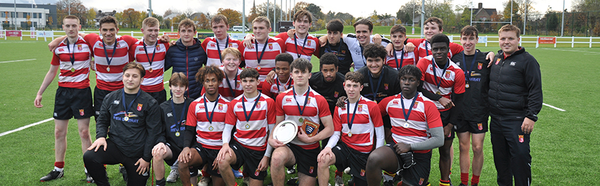 First XV Rugby Team Win Middlesex Plate