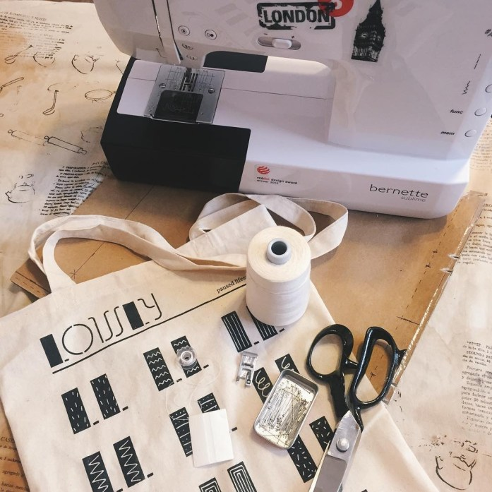its all about sewing this week Consegu tu Lowly ecohellip