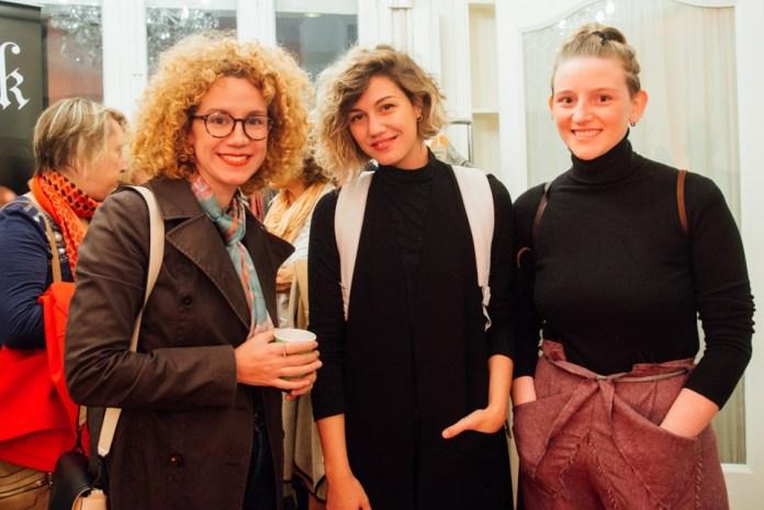 Moni Zanocchi, Clara Aguayo y Renata Casanova