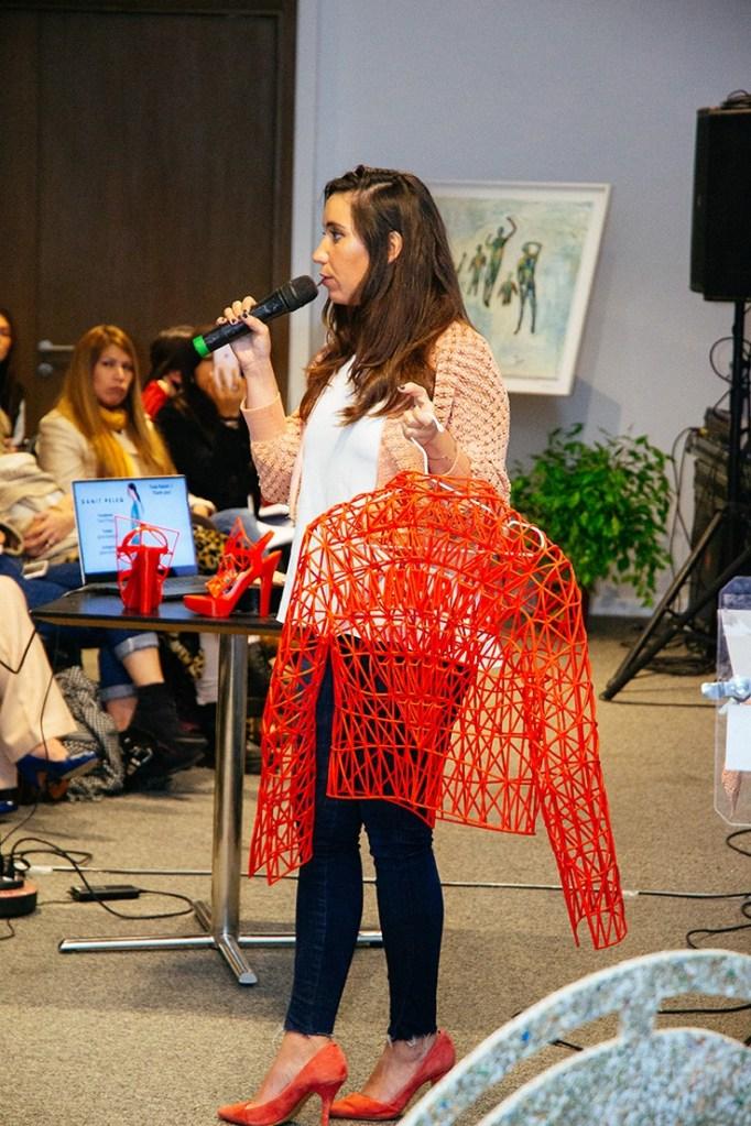 Ani Perez en su workshop en Mola