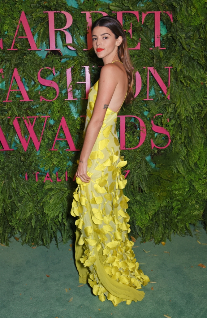 The Green Carpet Fashion Awards, Italia