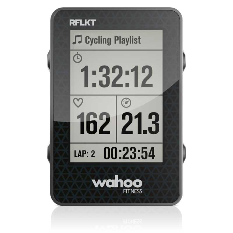 Wahoo Fitness RFLKT Bike Computer Powered by iPhone