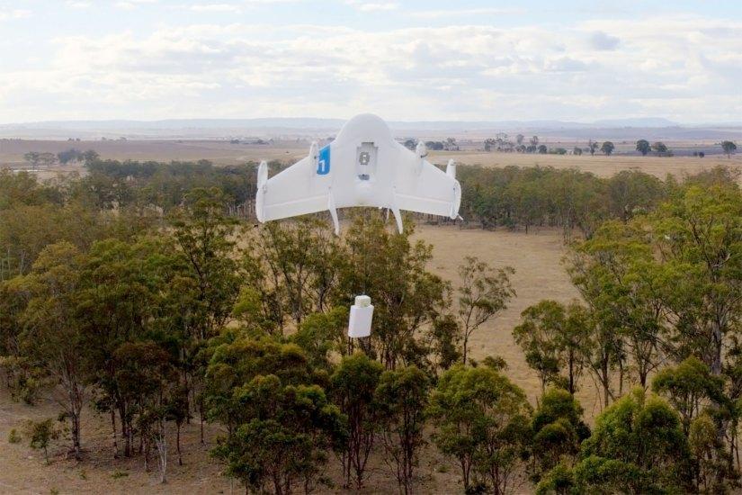 Google experimental drone