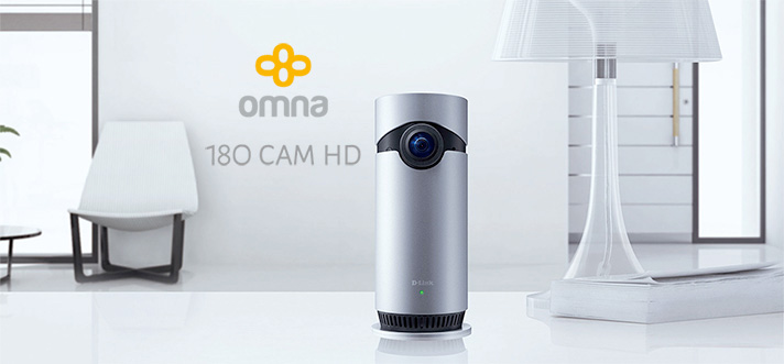 Omna 180 Cam HD - HomeKit camera from D-Link