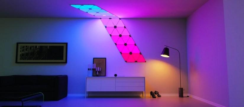 Nanoleaf Aurora lighting panels