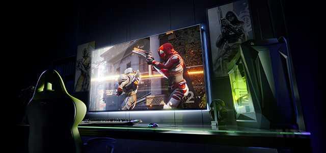 Nvidia, bugün CES'de Büyük Format Oyun Gösterimleri (BFGDs) olarak adlandırdığı görüntüyü açıklıyor.